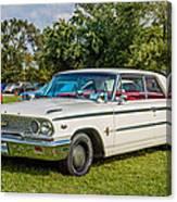 1963 Ford Galaxie 500xl Hardtop Canvas Print