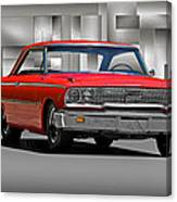 1963 Ford Galaxy 427 Cu. In. Canvas Print
