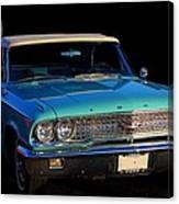1963 Ford Galaxy Canvas Print