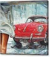 1963 Porsche 356 C Canvas Print