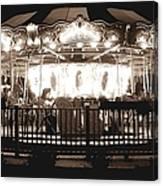 1964 Allan Herschell Carousel Canvas Print