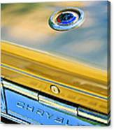 1964 Chrysler 300k Convertible Emblem -3529c Canvas Print