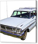 1964 Ford Galaxy Country Sedan Stationwagon Canvas Print