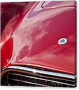 1964 Shelby 289 Cobra Grille -0840c Canvas Print