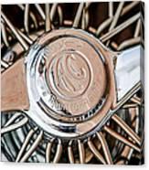 1964 Shelby 289 Cobra Wheel Emblem -0666c Canvas Print