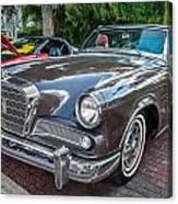 1964 Studebaker Golden Hawk Gt Painted Canvas Print
