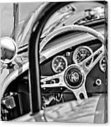 1965 Ac Cobra Steering Wheel Canvas Print