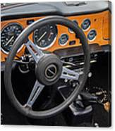 1965 Austin Healey Interior Canvas Print