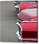 1965 Cadillac Deville Convertible Coupe Canvas Print