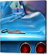 1965 Chevrolet Corvette Stingray Canvas Print