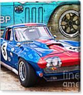 1965 Corvette Front View Canvas Print