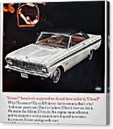 1965 Ford Falcon Ad Canvas Print