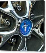 1965 Ford Mustang Wheel Rim Canvas Print