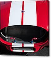 1965 Shelby Cobra Front Grille - Emblem Canvas Print