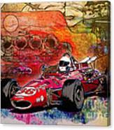 1966 9 Eagle Indy Canvas Print
