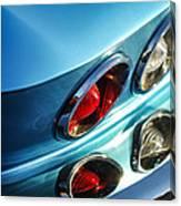 1966 Chevrolet Corvette Taillight -120c Canvas Print
