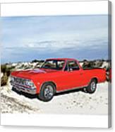 1966 Chevrolet El Camino 327 Canvas Print