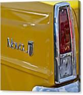 1966 Chevrolet Nova Taillight Emblem Canvas Print