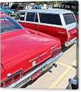 1966 Chevrolet Canvas Print
