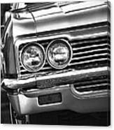 1966 Chevy Impala Ss Convertible Canvas Print