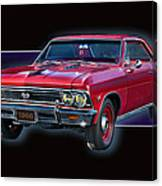 1966 Chevy Ss Canvas Print