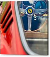 1966 Ferrari 275 Gtb Steering Wheel -0408c Canvas Print