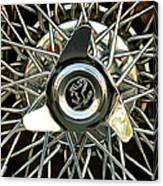1966 Ferrari 330 Gtc Coupe Wheel Rim Emblem Canvas Print