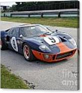 1966 Ford Gt40 Canvas Print