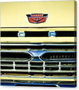 1966 Ford Pickup Truck Grille Emblem Canvas Print