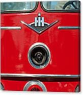 1966 International Harvester Pumping Ladder Fire Truck - 549 Ford Gas Motor Canvas Print
