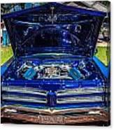 1966 Pontiac Bonneville Canvas Print