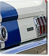 1966 Shelby Gt 350 Taillight Canvas Print