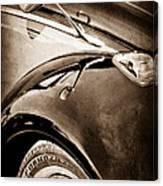 1966 Volkswagen Vw Canvas Print