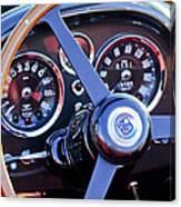 1967 Aston Martin Db6 Volante Steering Wheel 2 Canvas Print