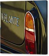 1967 Aston Martin Db6 Volante Tail Light Canvas Print