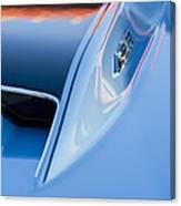 1967 Chevrolet Corvette 427 Hood Emblem 3 Canvas Print