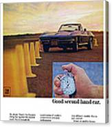 1967 Chevrolet Corvette Canvas Print