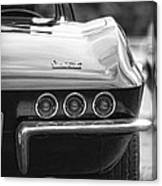 1967 Chevy Corvette Stingray Canvas Print
