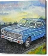 1967 Ford Falcon Futura Canvas Print