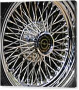 1967 Ford Thunderbird Wire Wheel Canvas Print