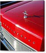 1967 Lincoln Continental Hood Ornament - Emblem -646c Canvas Print