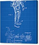 1967 Nasa Astronaut Ventilated Space Suit Patent Art 1 Canvas Print