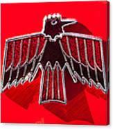 1967 Pontiac Firebird Emblem Canvas Print