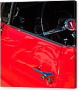1967 Pontiac Firebird Steering Wheel Emblem Canvas Print