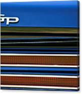1967 Pontiac Hurst Grand Prix Convertible Taillight Emblem -3584c Canvas Print