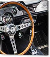 1967 Shelby Gt 350 Signed Dash Canvas Print
