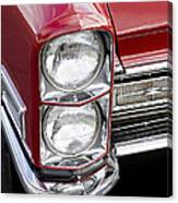 1968 Cadillac Deville You Looking At Me Canvas Print