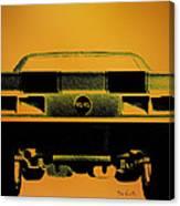 1968 Camaro Ss  Full Rear Canvas Print