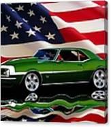 1968 Camaro Tribute Canvas Print