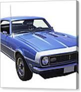 1968 Chevrolet Camaro 327 Muscle Car Canvas Print